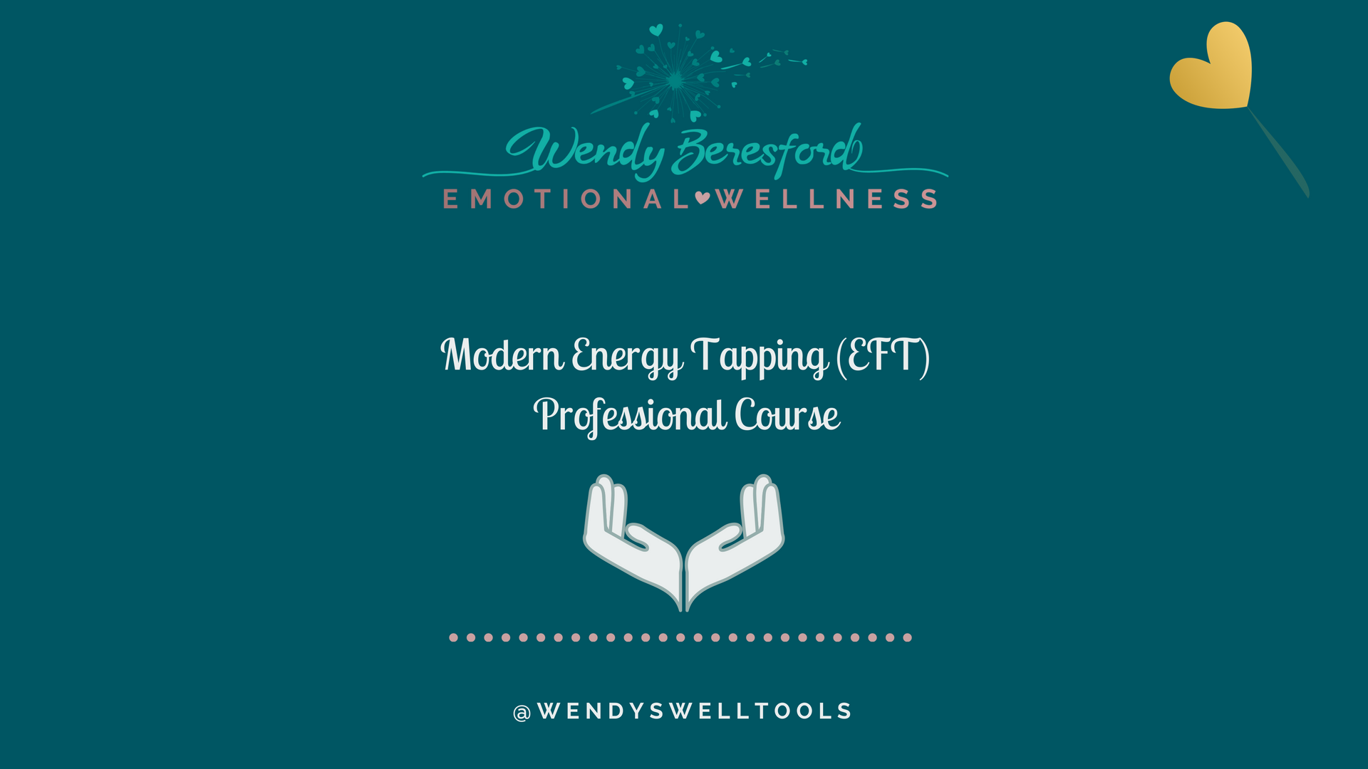 Modern Energy Tapping Foundation Course